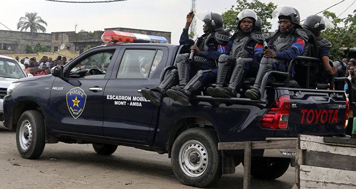 Policía de la República Democrática del Congo (archivo)