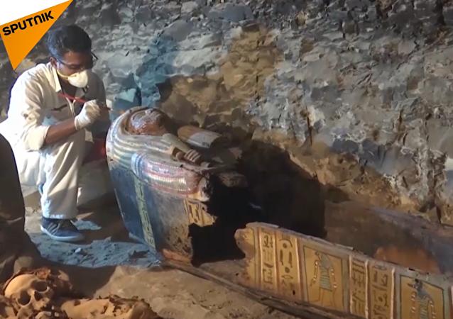 Descubren en Egipto la tumba de un orfebre de hace 3.500 años
