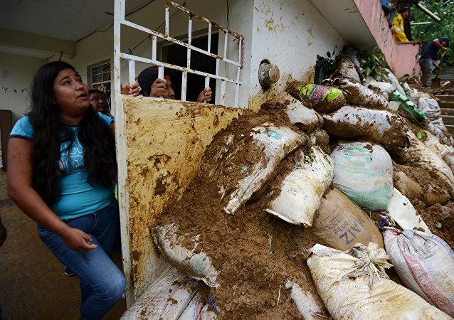 Consecuencias del huracán Katia en México