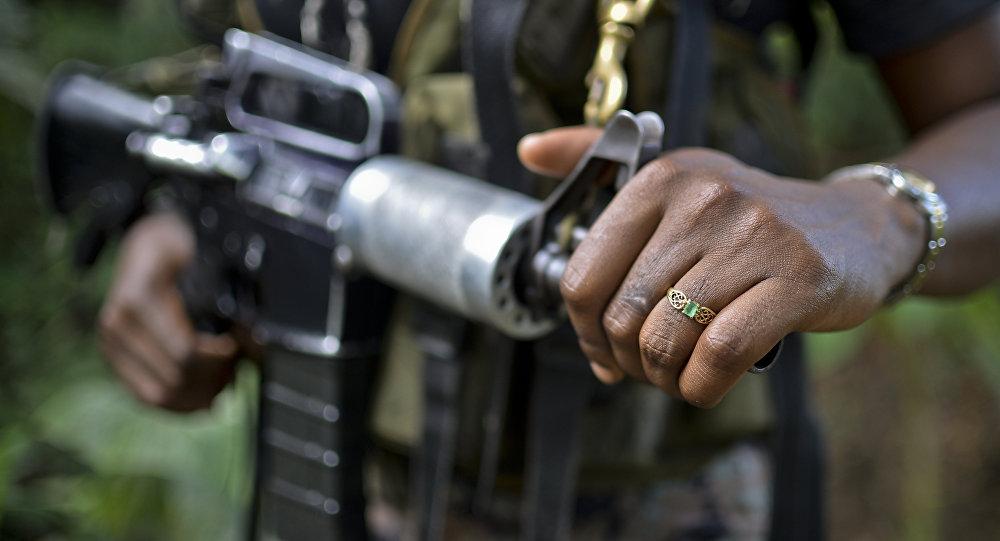 Un combatiente de ELN, Colombia (archivo)