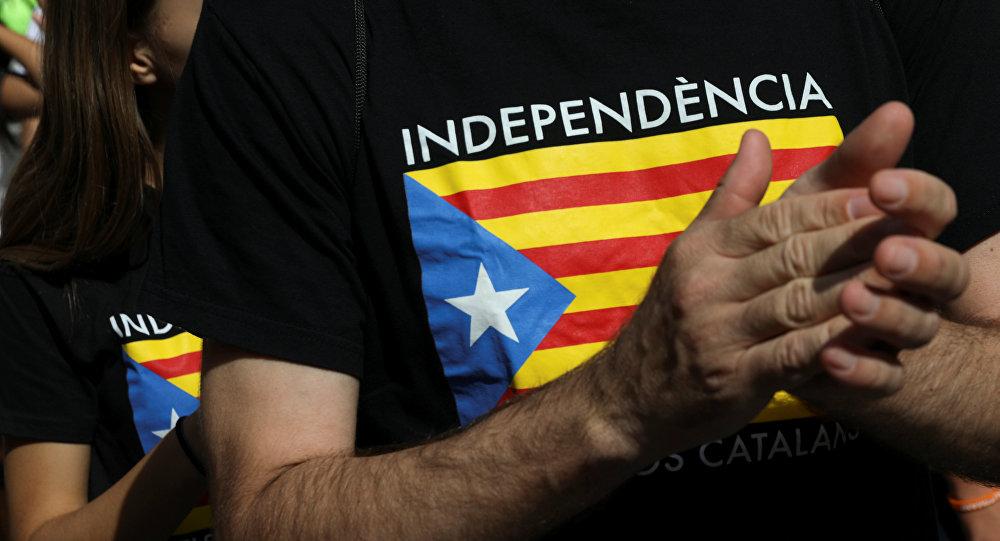 Partidarios de la independencia de Cataluña (archivo)