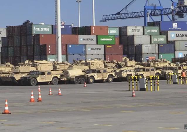 Las armas de EEUU llegan al puerto polaco de Gdansk
