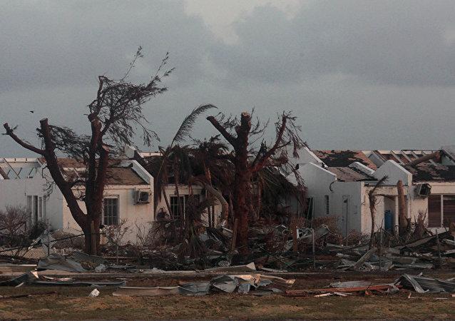 Consecuencias del huracán Irma (archivo)