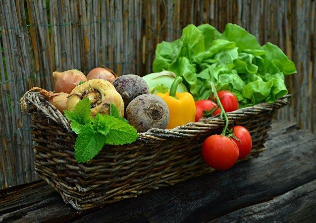 Unos vegetales (archivo)