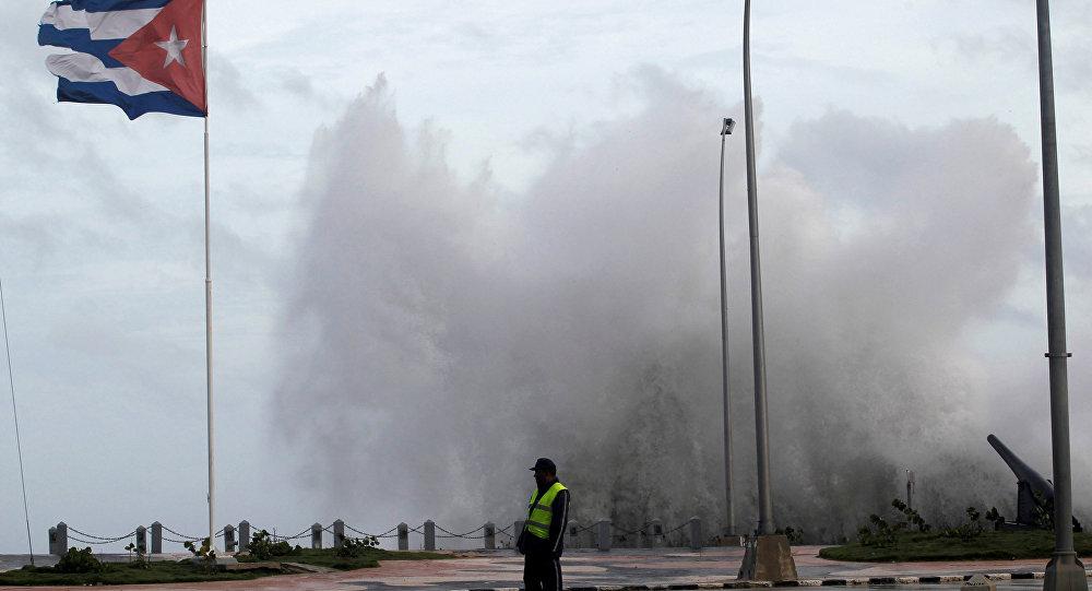 Huracán Irma en La Habana, Cuba