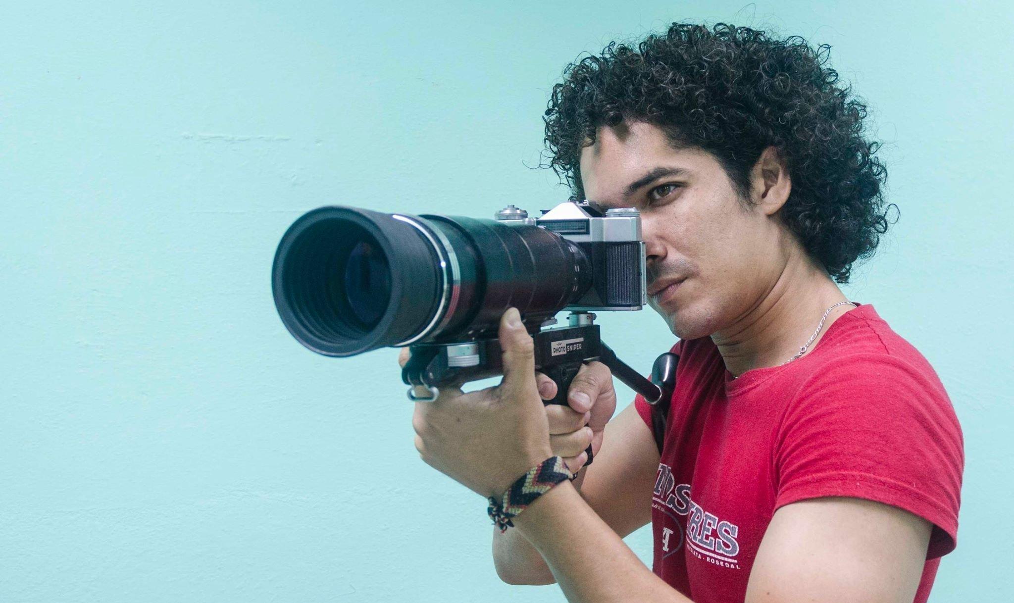 Yander Zamora, el fotorreportero cubano