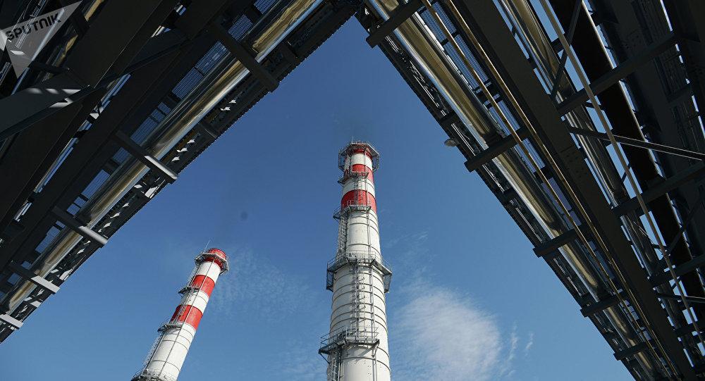 Una central termoeléctrica (imagen referencial)