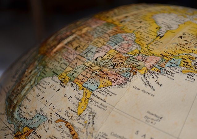El mapa de EEUU (imagen referencial)