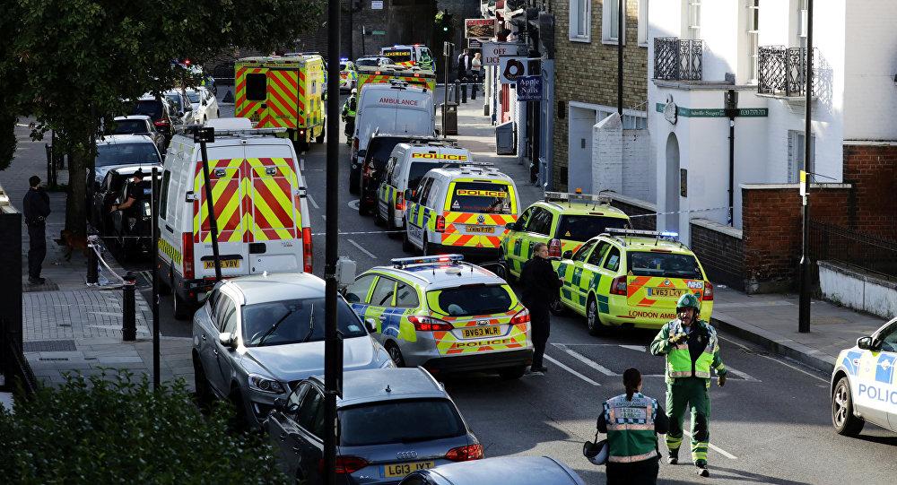 22 heridos tras atentado con artefacto casero en el metro — LONDRES