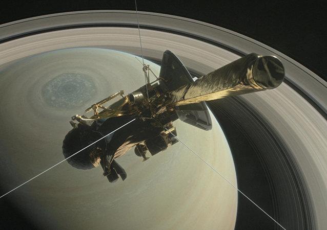 La sonda Cassini (archivo)