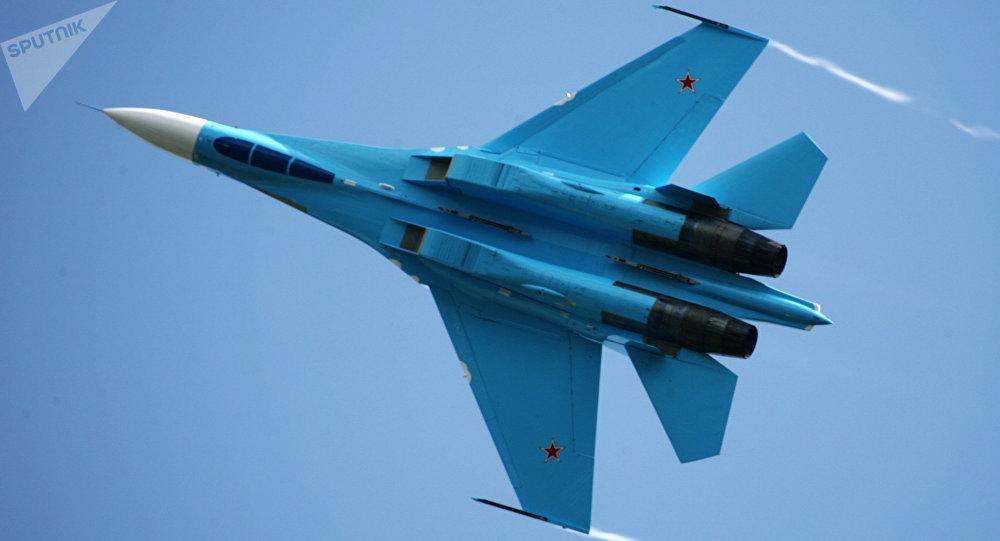 Caza ruso Su-27
