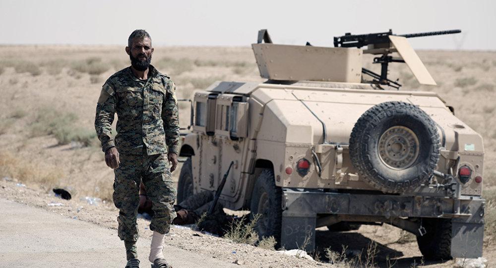 Un combatiente de FDS
