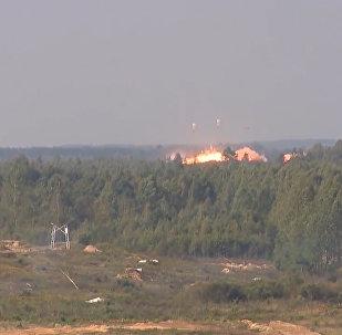 'Eliminar al enemigo con el apoyo de la aviación': las impactantes imágenes de las maniobras Zapad