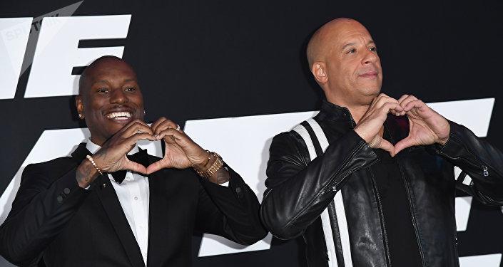 Vin Diesel y Tyrese Gibson