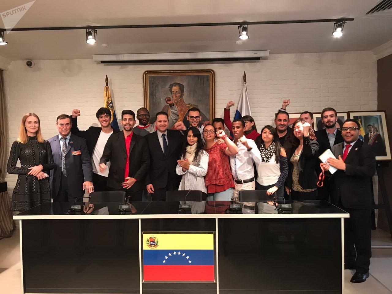 """Movimiento de Solidaridad y Grupos de Amigos desde Rusia expresaron su respaldo a la Jornada Mundial """"Todos somos Venezuela"""""""