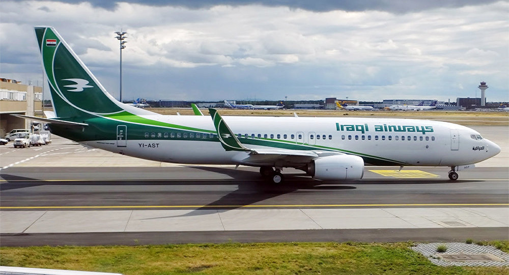 Un avión de Iraqi Airways