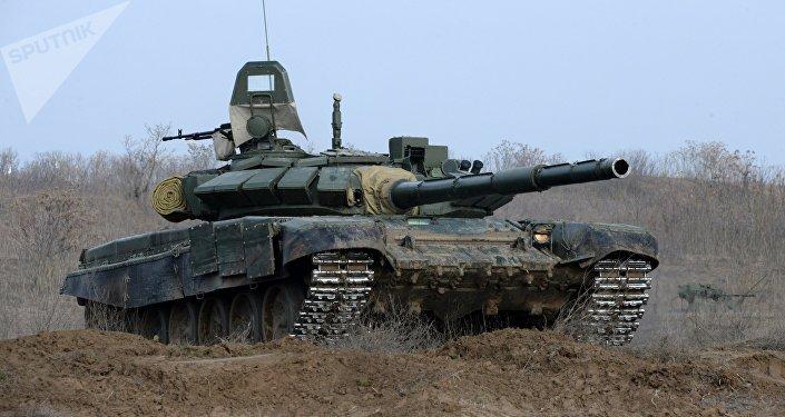 El tanque ruso T-72B3