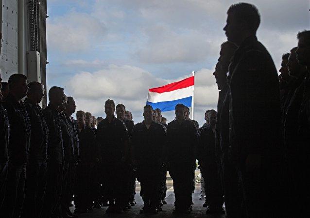 Oficiales del ejército de los Países Bajos