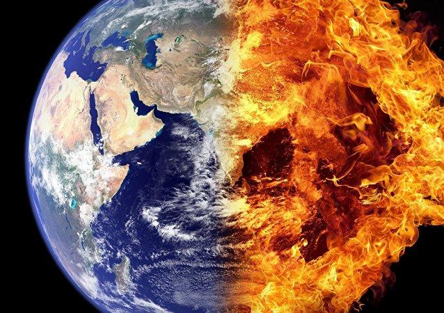 Tierra ardiendo
