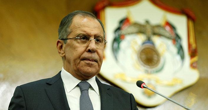 El ministro ruso de Asuntos Exteriores, Serguéi Lavrov