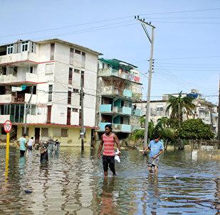 La Habana, Cuba, tras el huracán Irma