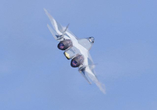 Su-57, caza ruso de quinta generación