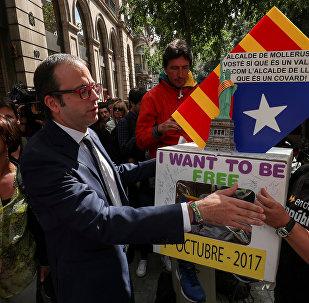 Alcalde de Mollerussa, Marc Solsona, cerca de la Fiscalía Superior de Cataluña