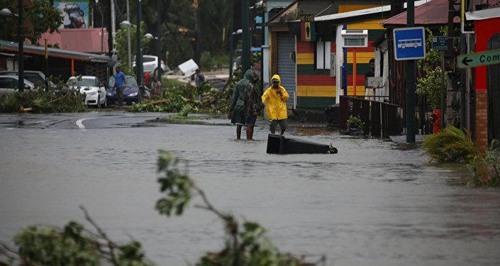 Consecuencias del huracán María