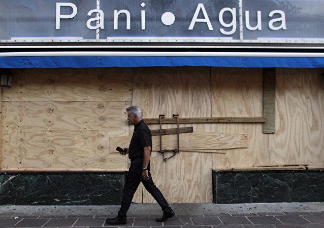Situación en Puerto Rico por el huracán María