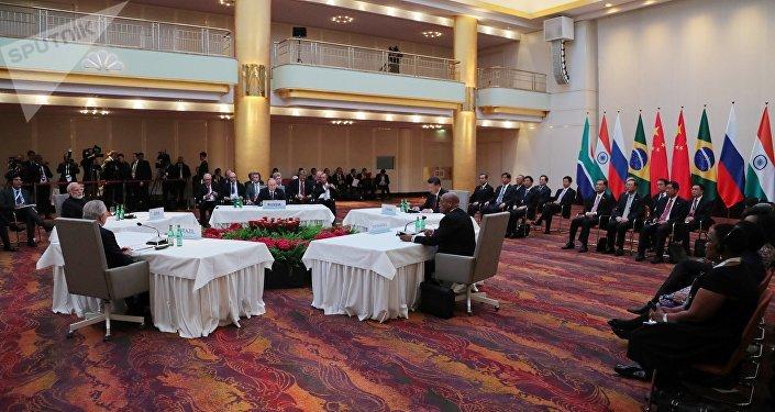 La cumbre de los BRICS en Hamburgo