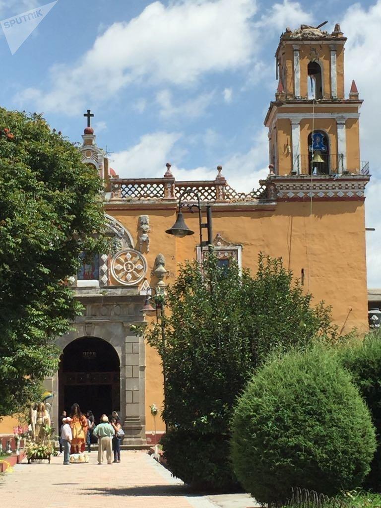 La Iglesia de San Miguel en Cholula, Puebla
