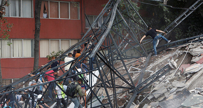 Consecuencias de un fuerte terremoto en México