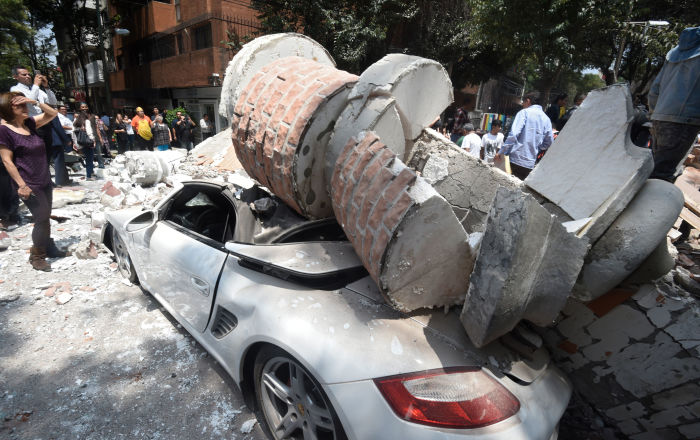 Espanto y dolor: un sismo violento y desastroso sacude México