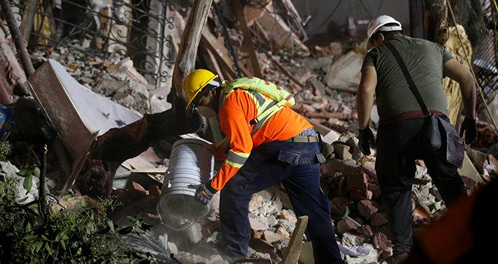 Consecuencias del terremoto en México