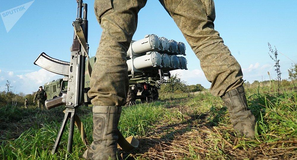 Militar ruso (archivo)