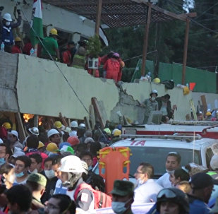 Centenares de víctimas mortales tras un fuerte terremoto en México