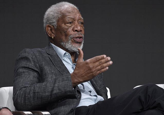 Morgan Freeman, actor estadounidense