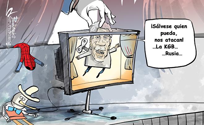 Morgan Freeman 'declara la guerra' a Rusia