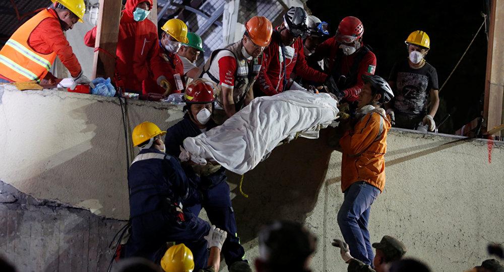 El terremoto en México