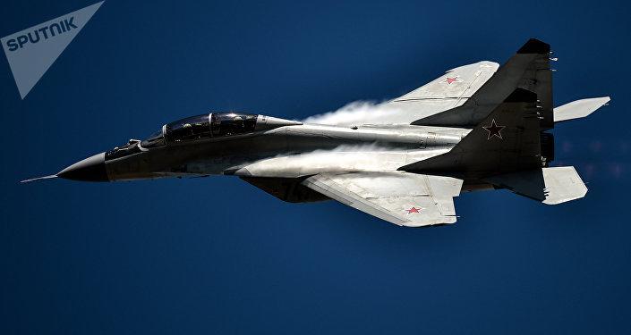 Avión de caza MiG-29 (archivo)