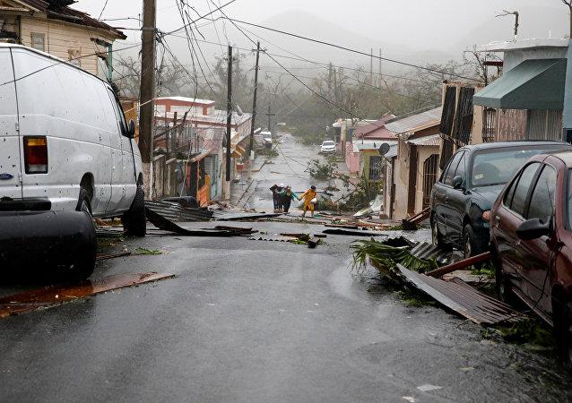 Las consecuencias del huracán María en Puerto Rico