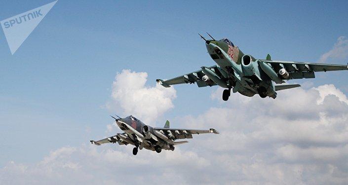 El Su-25, caza ruso en Siria