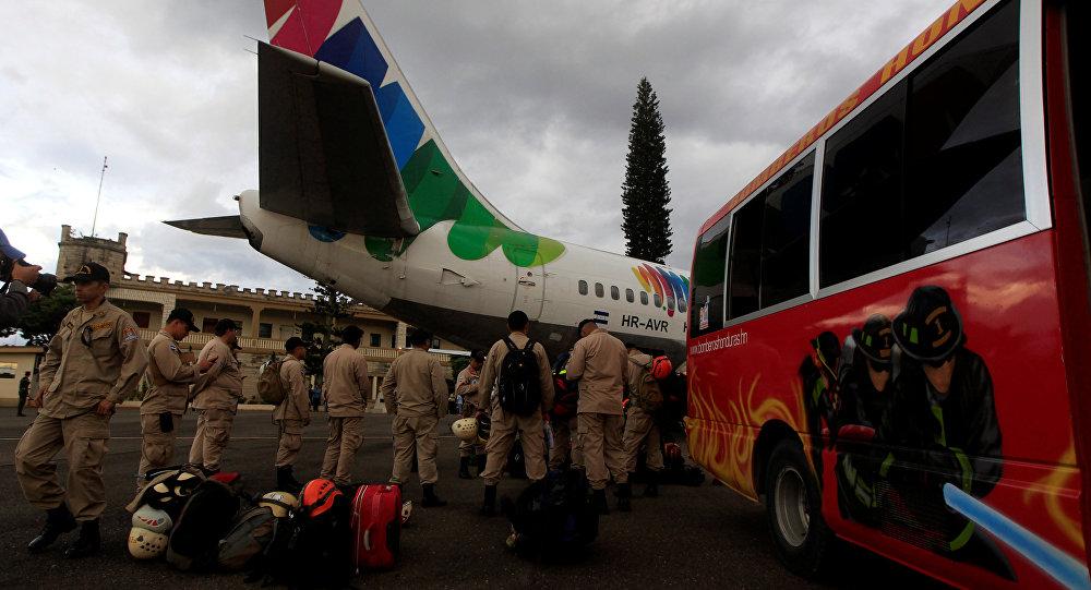 Rescatistas hondureños viajarán en las próximas hora a México