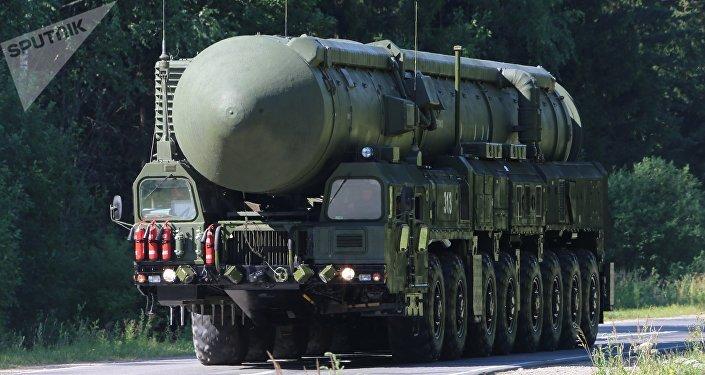 Lanzadera de misiles Yars