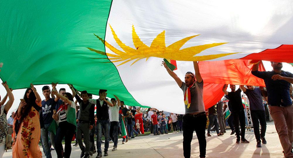 Partidarios del referéndum en el Kurdistán iraquí