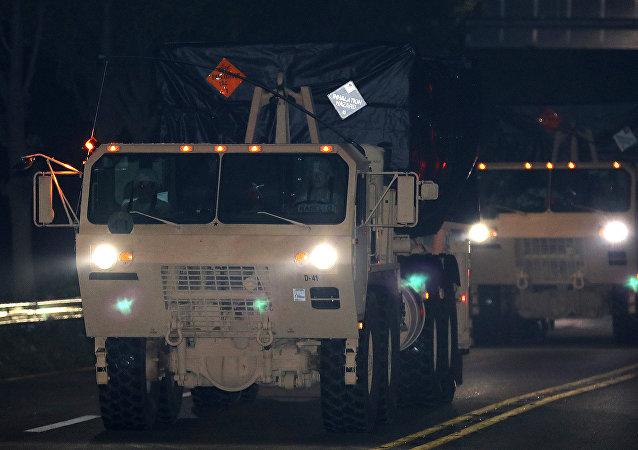 Sistema antimisiles estadounidense THAAD en Corea del Sur