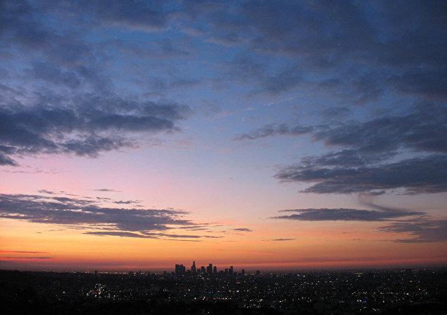 El cielo de Los Ángeles
