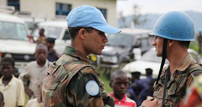 Cascos azules de la ONU