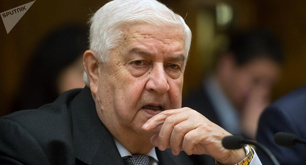 Walid Mualem, el ministro de Exteriores de Siria (archivo)