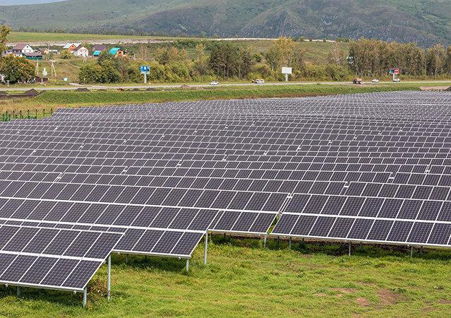 La primera central solar eléctrica en la República de Altái